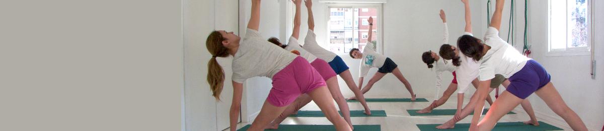 yoga iyengar madrid la vaguada